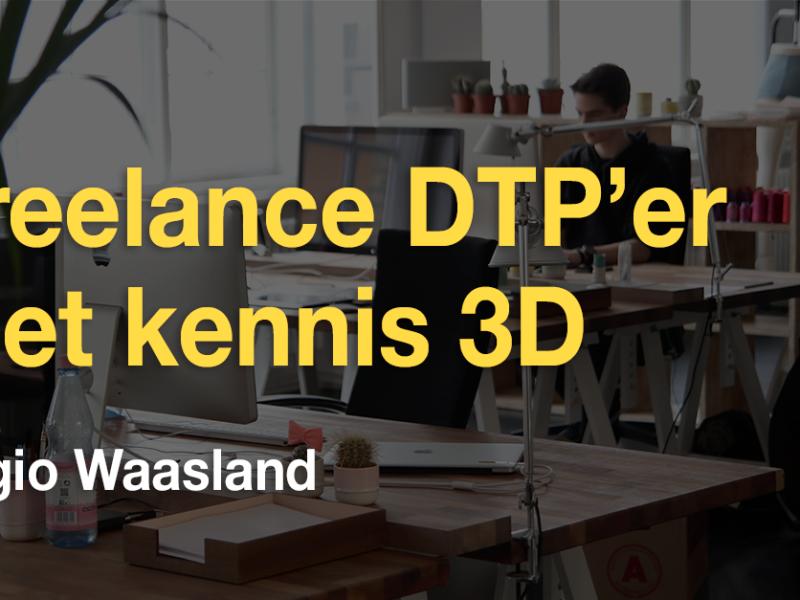 Vacature freelance DTP'er met 3D feeling (regio Waasland)