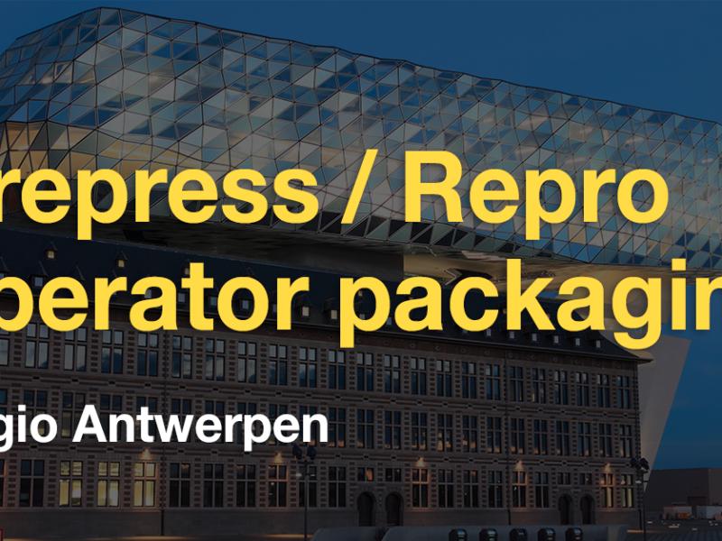 Vacature Prepress/Repro operator verpakkingen (regio Antwerpen)