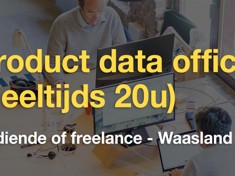 Product data officer (deeltijds/voltijds)