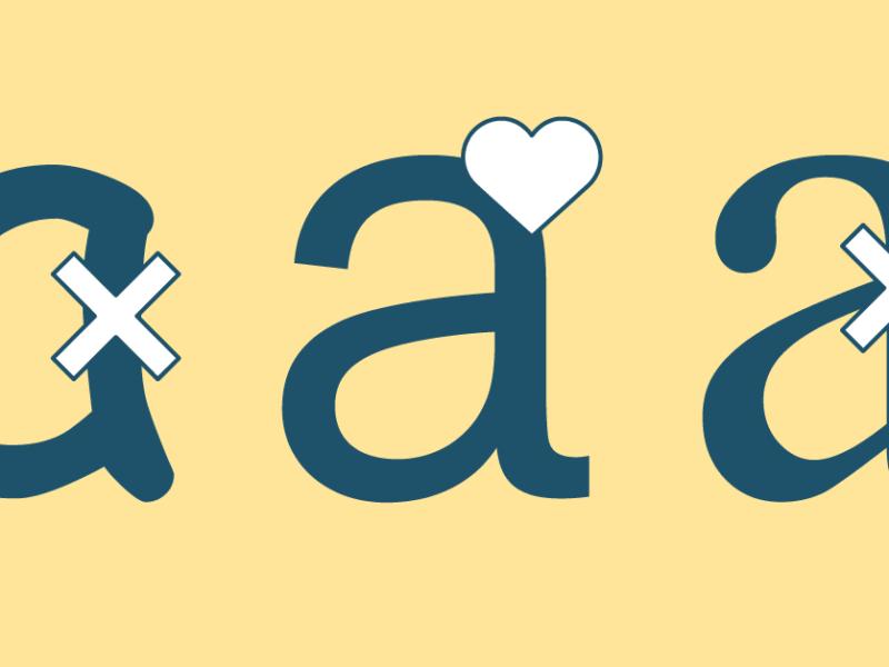 De favoriete fonts van het Sirius Graphics team
